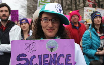 Thousands of women scientists have sent a letter to President Donald Trump asking for equality. (500womenscientists.org)