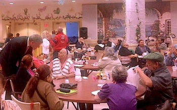 Cuts in funding could force 65 senior centers to close in New York City. (Bill de Blasio/Wikimedia Commons)