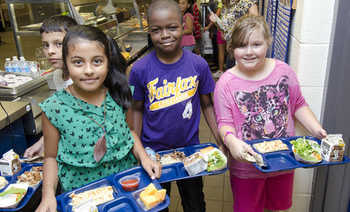 Texas schools have some of the highest participation levels in the School Breakfast Program compared to other states. (U.S. Dept. of Agriculture)