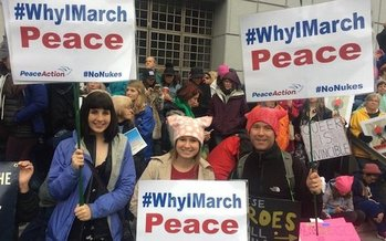 They have been marching against Trump administration policies and now, grassroots groups say the resignation of National Security Advisor Mike Flynn is a signal Trump's ties to Russia need to be investigated. (Peace Action)