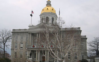 New Hampshire lawmakers take up a measure this week  that would prohibit union payroll deductions for state workers. (J.C. Benedict/Wikimedia)