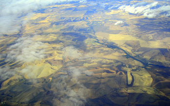 The Palouse in Idaho and Washington is identified as a region that could be resilient as a warming climate affects the globe. (Amy Ross/Flickr)