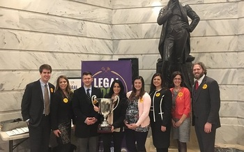Young lawyers in Kentucky are joining others in the legal community for Legal Food Frenzy, a friendly competition to raise money for hunger relief. (Kentucky Association of Food Banks)