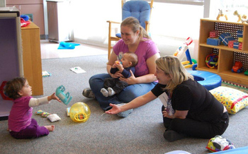 Subsidies for infant, toddler and preschool child care helps low-income families stay employed. (Fairfax County/flickr.com)