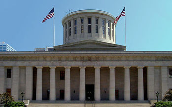 The Ohio House of Representatives could vote on a bill by the end of March that would dilute the state's clean-energy standards. (Alexander Smith/Wikimedia)