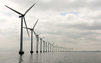 A wind farm such as the one pictured here in Denmark soon may find a home off the coast of North Carolina. (United Nations Photo/flickr.com)