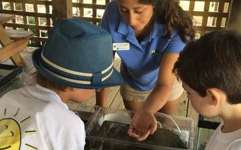 Nina Quaratella serves with the NC Coastal Federation as the Coastal Community Engagement Specialist. (Conservation Trust for North Carolina)