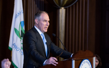 Environmental Protection Agency head Scott Pruitt is being challenged by the science community over his comments this week about climate change. (epa.gov)