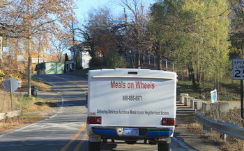 Proposed federal and state budget cuts are jeopardizing programs such as Meals on Wheels, in Connecticut and across the country. (Dwight Burdette/Wikimedia Commons)