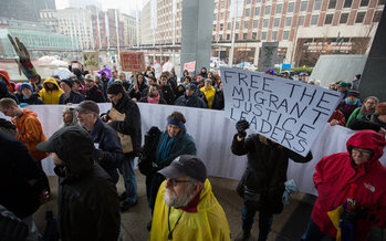 A legal case pending in Massachusetts could set a nationwide precedent for sanctuary cities, even as they are threatened with funding cuts by the Trump administration. (Alex Shure/ACLU Mass.)