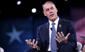 On Wednesday, U.S. Interior Secretary Ryan Zinke lifted a moratorium on new coal leases, but only 38 percent of Trump voters think coal should be a priority. (Gage_Skidmore/Wikimedia Commons)