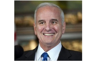 Under Gov. Mark Dayton, Minnesota raised taxes on high-income households - but that state now is growing much faster than the national average. (Gov. Mark Dayton's office)