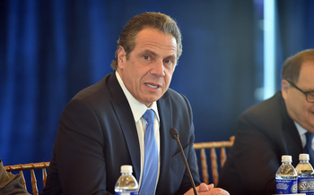 Gov. Andrew Cuomo's Liberty Defense Project is funded by private foundations. (governorandrewcuomo/Flickr)