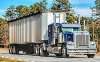 Concerns over truck pollution rules may hold up the governor's new transportation bill. (Dodgerton Skillhause/Morguefile)