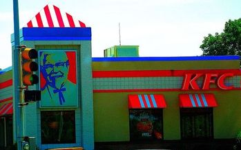 Col. Sanders is kicking the antibiotic habit. KFC is pledging to phase out the drugs in its chicken by 2018. (Corey Coyle/Wikimedia Commons)
