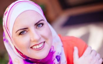 Deedra Abboud, a Democrat running for U.S. Senate, emphasizes issues such as affordable child care, education, health care, wage equality and social unity. (Abboud 2018)