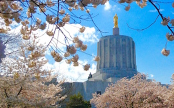 Oregonians are gathering at the Capitol today to push legislators to help ease the state's housing crisis. (AARP)