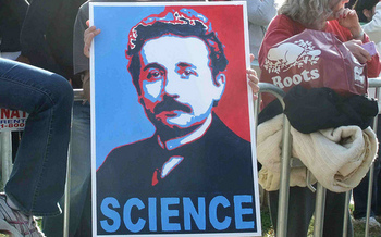 Marchers are gathering in several Idaho cities on Saturday, along with counterparts across the nation, to show their support for science. (Martha Soukup/Flickr)