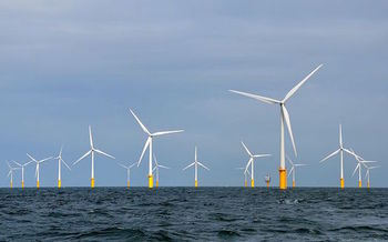 Gov. Andrew Cuomo has called for the development of 2.4 GW of offshore wind power by 2030. (Hans Hillewaert/Wikimedia Commons)