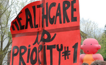 Groups are still opposed to an amended version of the American Health Care Act, the GOP's plan to replace Obamacare. (NESRI/Flickr)