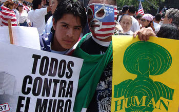 People across New Mexico are getting ready to hit the streets for International Workers Day on May 1. (Wikimedia/Creative Commons)