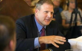 A progressive advocacy group plans to shadow Gov. Chris Sununu, in continued attempts to ask about the identities of businesses that he says support some of his key policies. (ONE@MIT/Twitter)