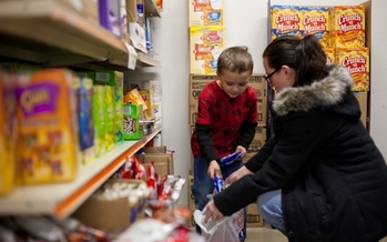 Food-insecure Kentuckians face an average food budget shortfall of $15.79 each week. (Kentucky Association of Foodbanks)