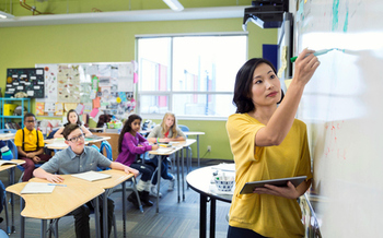 Texas is among several states considering laws that would block state and local school officials from limiting teachers to lessons using evidence-based science. (GettyImages)