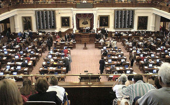 A Guttmacher Institute study finds many of the anti-abortion laws passed by the Texas Legislature aren't based on medical or scientific evidence. (MattArcher/GettyImages)