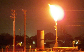 The fate of a rule that requires energy companies to capture gas wasted through leaks, venting and flaring on public land is being decided this week. (haymarketrebel/Flickr)
