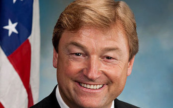 Nevada conservation groups say it might be up to Sen. Dean Heller, R-Nev., to uphold the BLM methane-waste rule. (Wikimedia Commons)