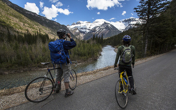 There are plenty of venues for cycling available around Montana, including Glacier National Park, above. (Jacob W. Frank/National Parks Service)