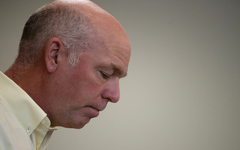 House candidate Greg Gianforte, who won Thursday's special election, was charged with misdemeanor assault after allegedly throwing a Guardian reporter to the ground. (Justin Sullivan/Getty Images)