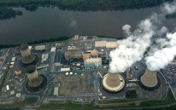 In 1979, Three Mile Island was the site of the worst commercial nuclear power accident in the United States. (Wikimedia Commons)