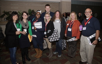 AmeriCorps volunteers are working with groups such as CEDAM to serve communities across Michigan. (R. Diskin)