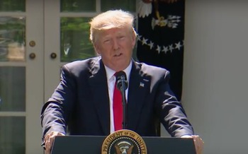 President Donald Trump insists the Paris Climate Agreement will hurt the U.S. economy. (whiteHouse.gov)