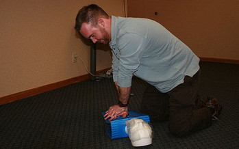 Medical experts say CPR is not a difficult concept to master. (Betsy Weber/Flickr)