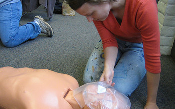 CPR is a skill that medical experts say can be learned by both the young and old. (Shad Bolling/Flickr)