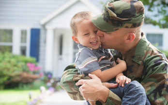 A new report says Congress' attempt to ease regulations on the financial industry would have harmful side effects for the nation's military families. (Getty Images)
