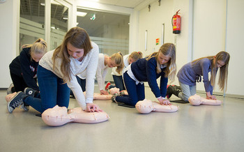 This year, South Dakota joins 34 other states that require high-school students be trained in hands-on CPR in order to graduate. (American Heart Association)