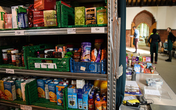 The Montana Food Bank Network works with 140 partners across the state to provide meals to kids over the summer. (Leon Neal/Getty Images)