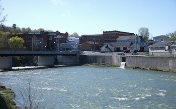 PFOA was first detected in Hoosick Falls' drinking water in 2014. (Doug Kerr/Flickr)