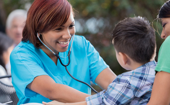 More than 95 percent of children now have health-care coverage due to expansions of Medicaid and the Children�s Health Insurance Program under the Affordable Care Act. (Getty Images)