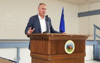 Interior Secretary Ryan Zinke is evaluating Basin and Range and Gold Butte national monuments for possible downsizing. (Nevada Forward)
