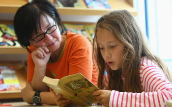 Reading is one way to help your child stay ready for learning during summer vacation. (Sean Gallup/Getty Images)