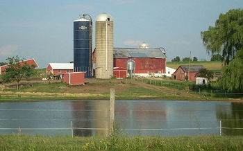 Pennsylvania is missing goals for reducing agricultural nitrogen and phosphorus pollution. (Dincher/Wikimedia Commons)
