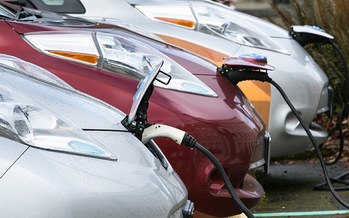 Electric cars are catching on in Washington, and motorists now have a scenic byway dotted with charging stations. (Wash. State House Republicans/Flickr)
