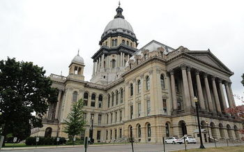 Illinois has been in the nation's longest state-budget deadlock since the Great Depression, and not much headway was made over the holiday weekend. (Meagan Davis/Wikimedia Commons)