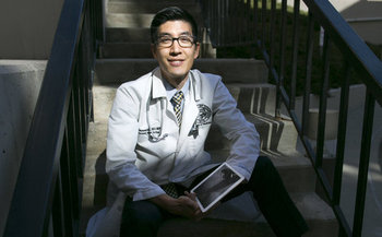Medicaid expansion prevented Dale Terasaki from being saddled with more than $100,000 in debt after a medical emergency. (Barry Gutierrez)