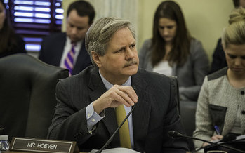 Sen. John Hoeven, R-N.D., has become integral to the GOP's efforts to pass health-care reform. (Bob Nichols/U.S. Dept. of Agriculture)